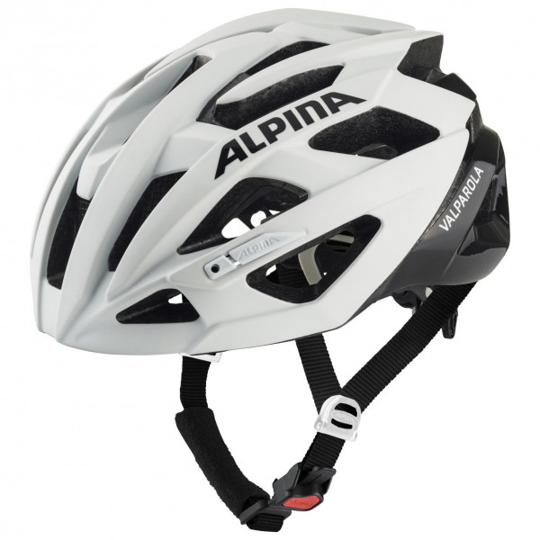 Alpina - Valparola - Casco de ciclismo size 55-59 cm, gris/negro