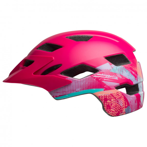Bell - Sidetrack Child - Casco de ciclismo size 47-54 cm, fucsia