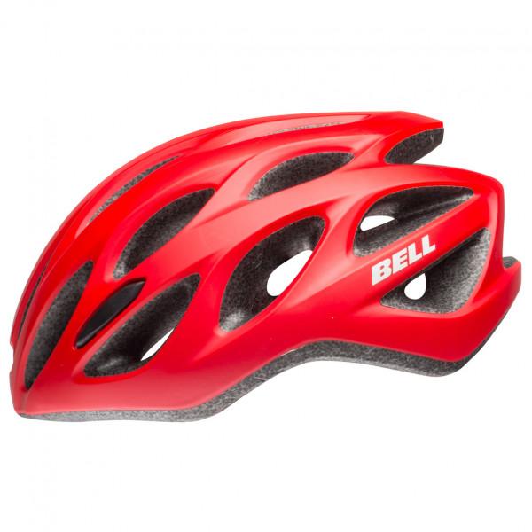 Bell - Tracker R - Casco de ciclismo size 54-61 cm, rojo/negro