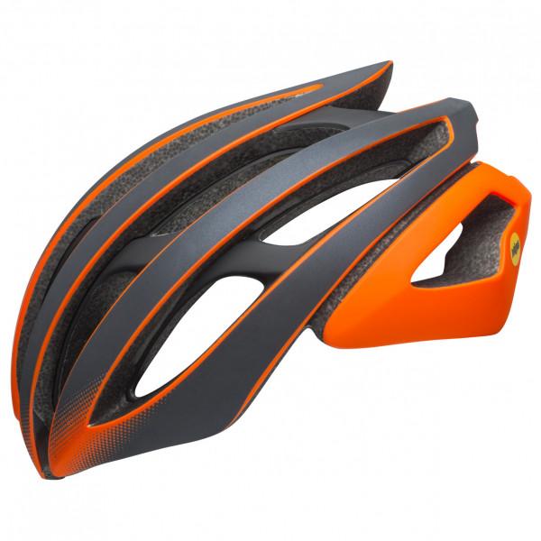 Bell - Z20 MIPS Ghost - Casco de ciclismo size 52-56 cm - S;58-62 cm - L, negro/gris/naranja