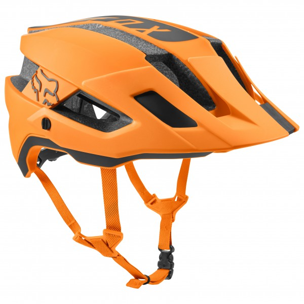 FOX Racing - Flux Helmet Rush - Casco de ciclismo size L/XL;S/M;XS/S, naranja/beige