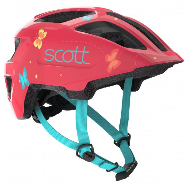 Scott - Helmet Spunto Kid - Casco de ciclismo size One Size, rojo/negro/turquesa