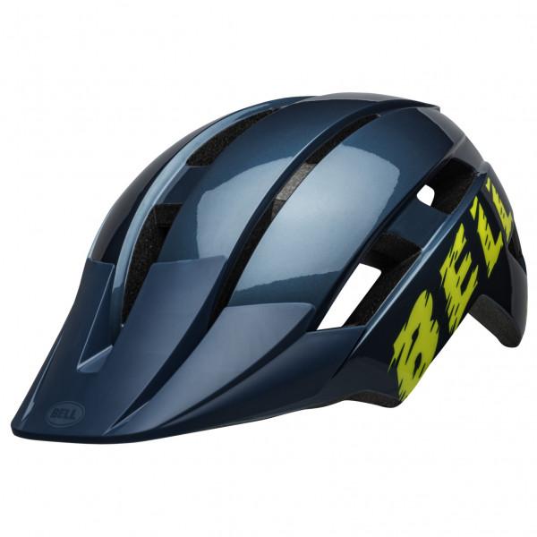 Bell - Sidetrack II - Casco de ciclismo size 45-52 cm - Toddler;48-55 cm - Child;50-57 cm - Youth, azul/gris;negro/azul/gris;rojo/marrón