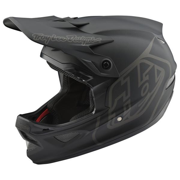 Troy Lee Designs - D3 Helmet - Casco de ciclismo size L, negro/gris
