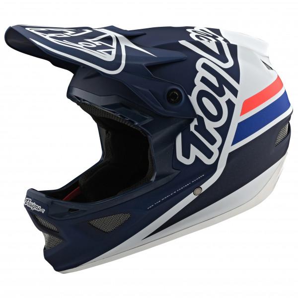 Troy Lee Designs - D3 Helmet - Casco de ciclismo size M, negro/gris