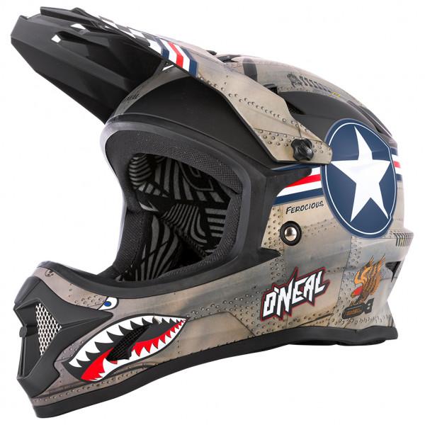 O`Neal - Backflip Youth Helmet Wingman - Casco de ciclismo size 48-50 cm - M, negro/gris