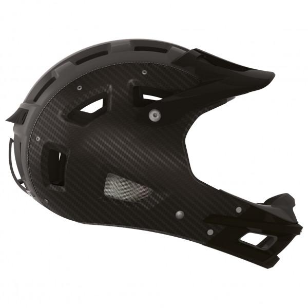 CASCO - MTB.E Carbon Fullface - Casco de ciclismo size L - 58-62 cm;M - 56-58 cm, negro
