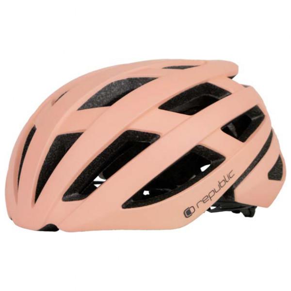 Image of Republic Bike Helmet R410 Radhelm Gr 54-58 cm;58-61 cm beige/schwarz;rot/schwarz;schwarz;schwarz/oliv/grau;weiß/schwarz