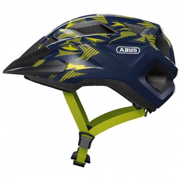 ABUS - Kid`s Mountz - Casco de ciclismo size S, negro/azul