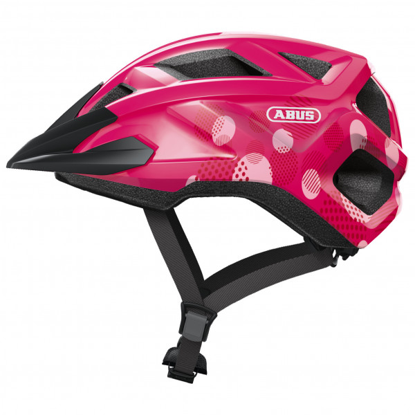 ABUS - Kid`s Mountz - Casco de ciclismo size S, negro/azul;negro/rojo;fucsia/negro
