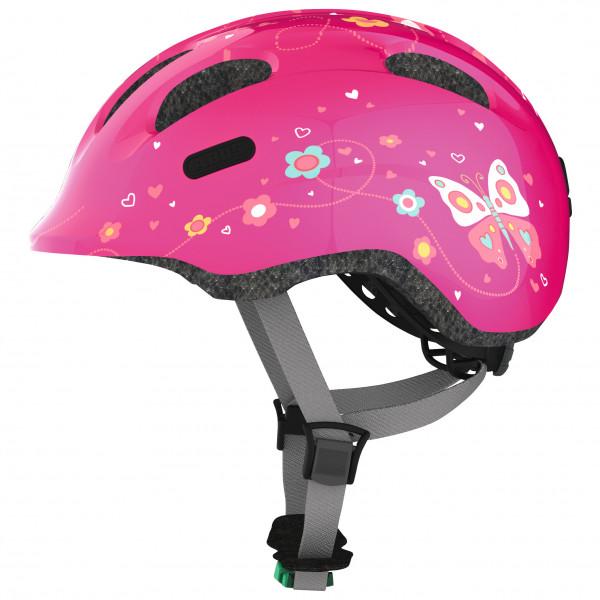 ABUS - Kid`s Smiley 2.0 - Casco de ciclismo size M, fucsia/negro