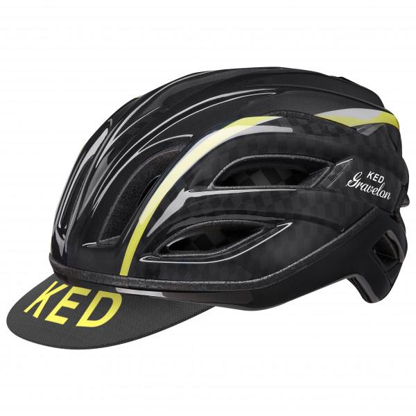 Ked - Gravelon - Bike Helmet Size M - 52-57 Cm  Black