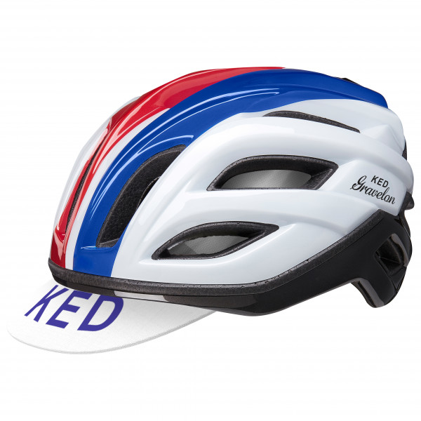 Ked - Gravelon - Bike Helmet Size L - 58-61 Cm  Grey/black