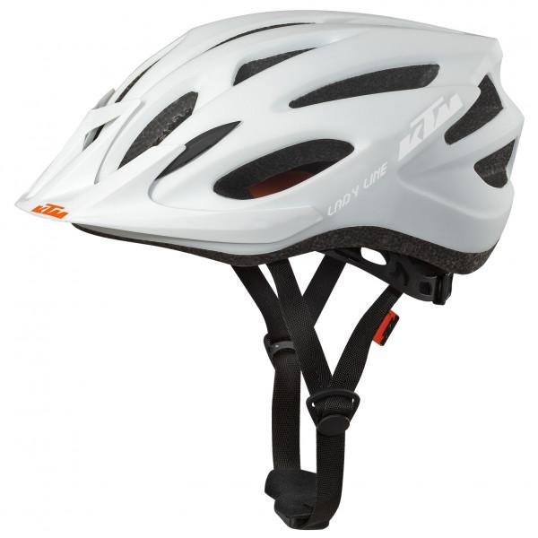 Ktm - Ladys Line Helmet - Bike Helmet Size 54-58 Cm  Grey/black/white