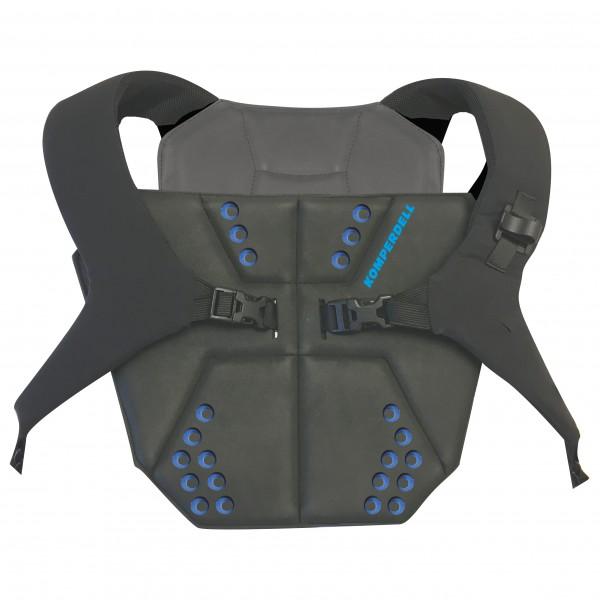 Komperdell - Sternum Protector Shield Junior - Protektor schwarz/oliv/grau