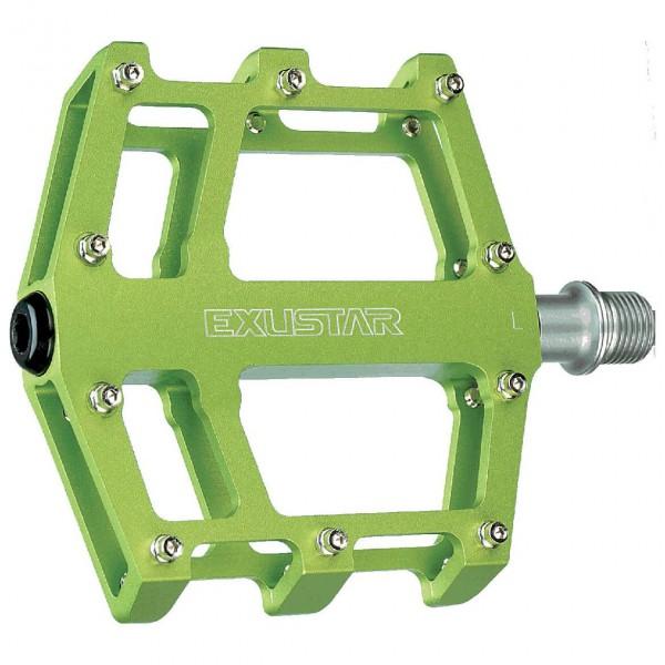 Pedale MTB/BMX E-PB525 - Pedale grün