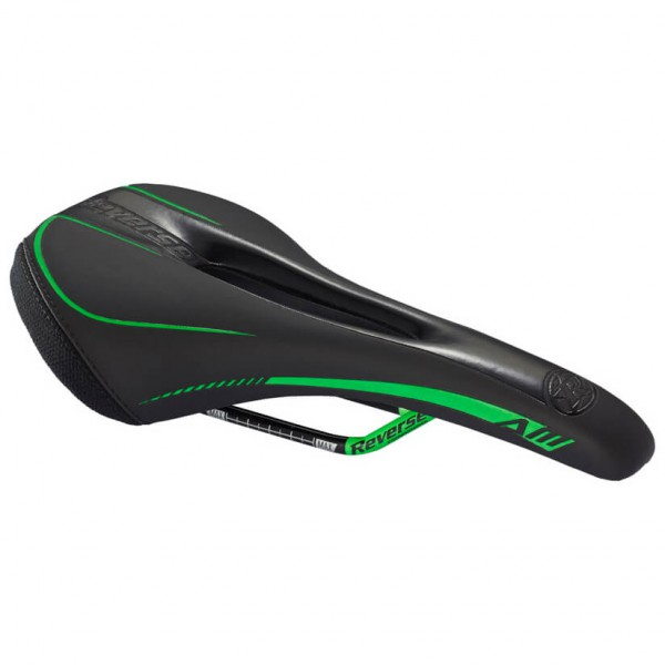 Reverse - Sattel AM CrMo - Sattel schwarz/grün