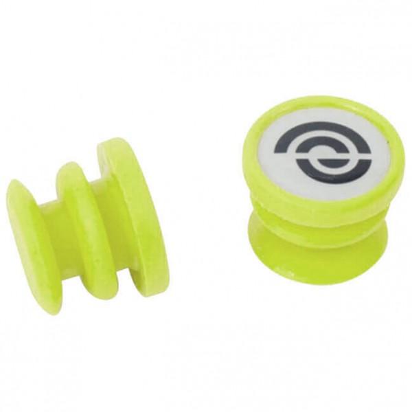 Bike Ribbon - Silikon End-Plugs Jelly (Paar) - Lenkerband grün