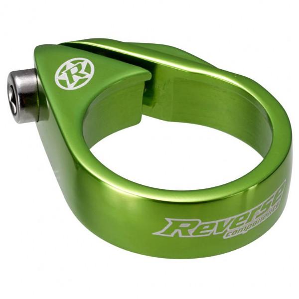 Reverse - Sattelschelle Bolt Clamp Ø 34,9 mm grün 00821