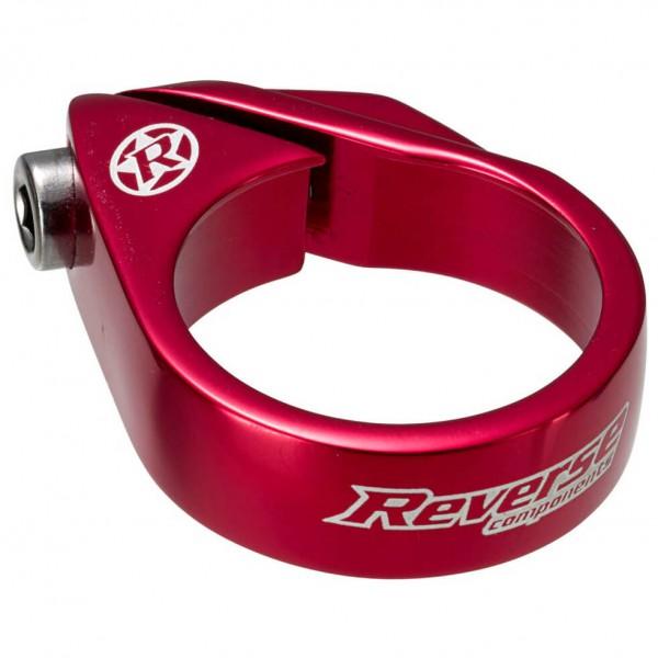 Reverse - Sattelschelle Bolt Clamp Ø 34,9 mm rot 00818
