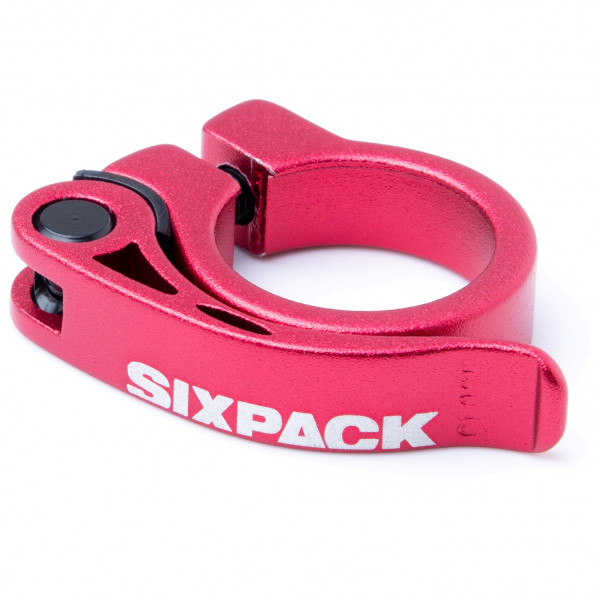 Sixpack Racing - Menace Seatclamp Ø 34.9 mm rot 982008