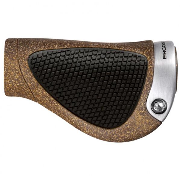 Ergon - GP1-L Rohloff / Nexus - Fahrradgriffe Gr One Size schwarz/braun 42410206