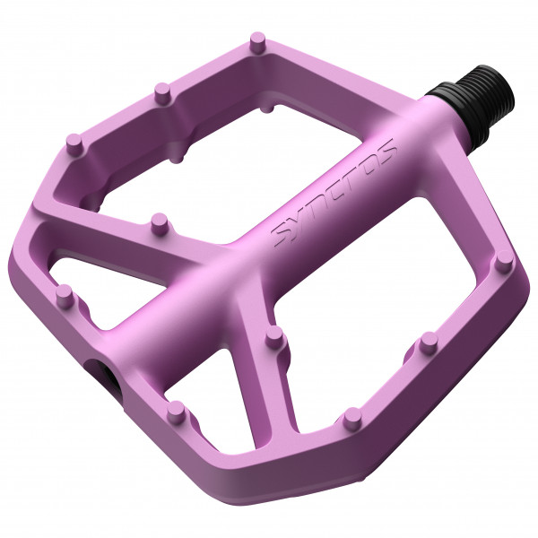Syncros - Flat Pedals Squamish Iii - Platform Pedals Size Large  Pink/purple