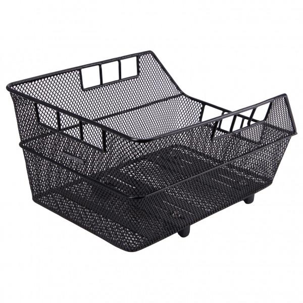 Contec - Gepäckträger-Korb Mocca WSL Gr 45 x 31 x 22 cm schwarz 07381833