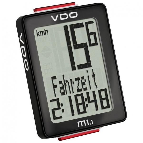 VDO - M1.1 WL Fahrradcomputer (Funk) - Radcomputer schwarz 30015
