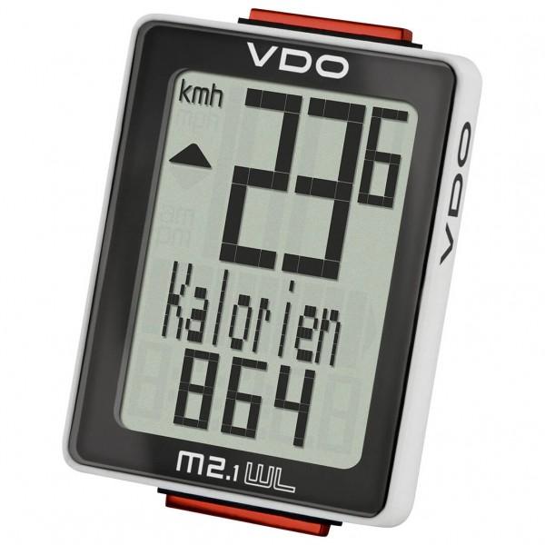 VDO - M2.1 WL Fahrradcomputer (Funk) - Radcomputer schwarz 30025