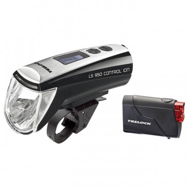 Trelock - Akkuleuchtenset LS 950/LS 720 schwarz