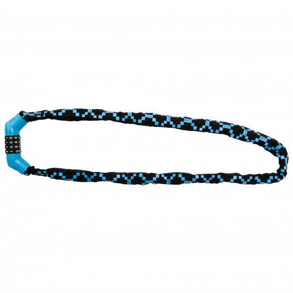 Contec - Zahlen-Kettenschloss NeoLoc - Fahrradschloss Gr 100 cm schwarz/blau/grau 03529955