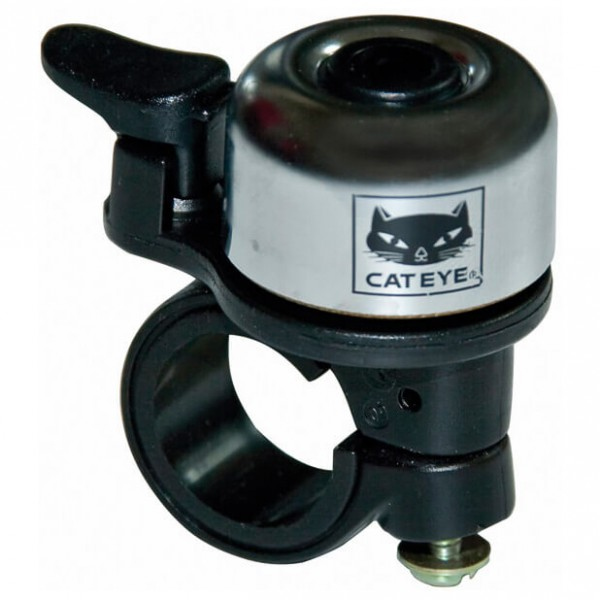 CatEye - OH-1200 Brass Bell Messing - Timbre para bicicleta negro