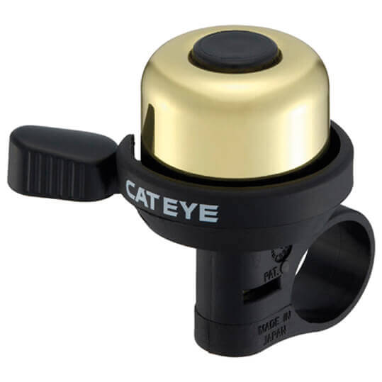 CatEye - PB-1000 Wind-Bell - Timbre para bicicleta silber /negro