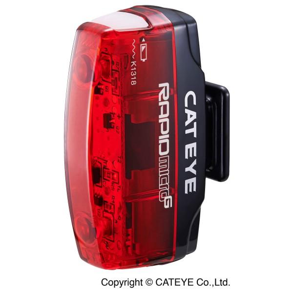 CatEye Rapid Micro G TL-LD620G zwart-rood