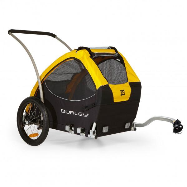 Burley - Hundeanhänger Tail Wagon - Fahrradanhänger Gr One Size schwarz/grau 947104