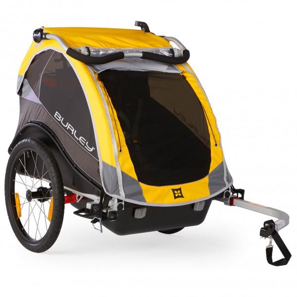 Burley - Kinderanhänger Cub Fahrradanhänger gelb /schwarz