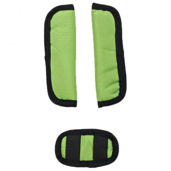 Croozer - Gurtpolster Set grün