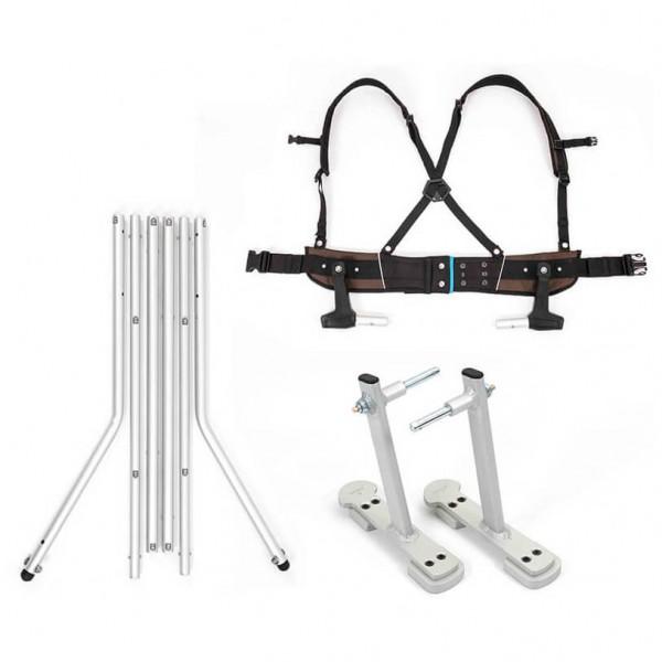 Croozer - Ski Adapter Set Click & Ski Bindung: 235 mm Preisvergleich