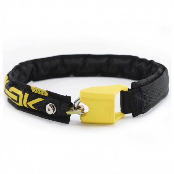 Hiplok - Lite Wearable 6mm Chain Lock - Fahrradschloss Gr 75 cm gelb