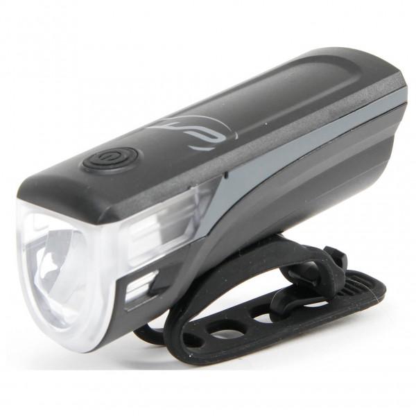 Contec - Batterie-LED-Scheinwerfer Speed-LED - Fahrradlampe coolgrey 03103074