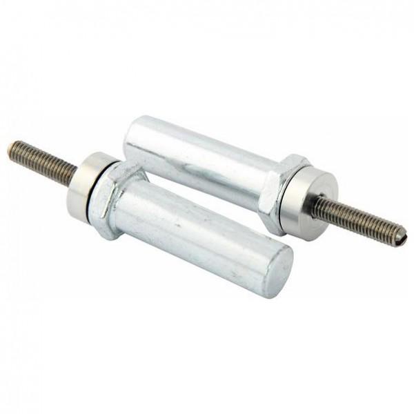 FollowMe Adapter Achsenverlängerungsmutter M 9 x 1 Fiets grijs