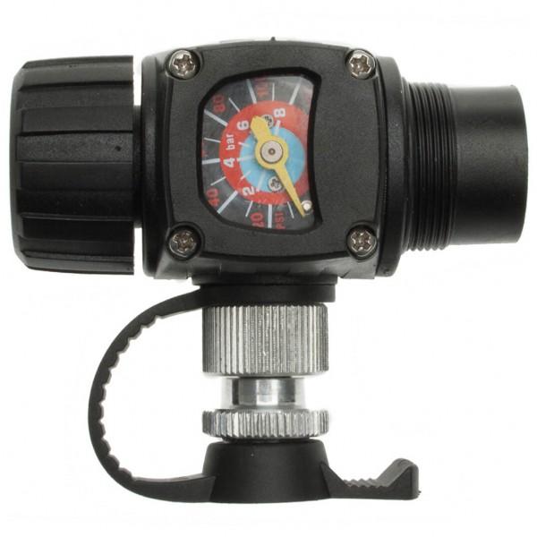 Barbieri - Pumpe Airman - Minipumpe Gr 69 g schwarz/grau AIR/MAN08