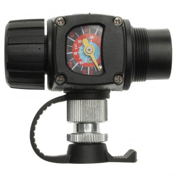 Barbieri - Pumpe Airman - Minipumpe Gr 69 g schwarz/grau 218101