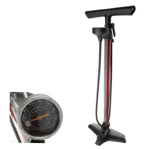 Barbieri - Standpumpe New Floor Pump - Standpumpe Gr 1200 g grau/schwarz POF/KOMP08