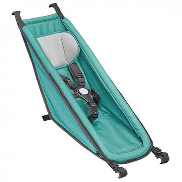 Croozer - Babysitz grün