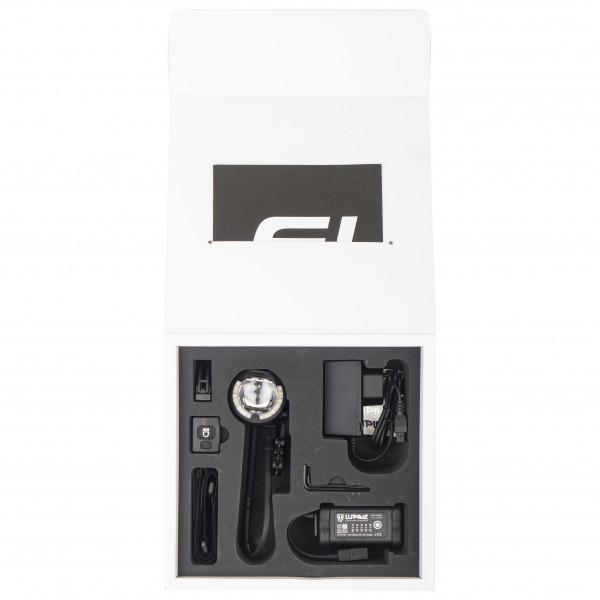 Lupine - SL AF 4 - Luz de bicicleta size Lenkerdurchmesser 31,8 mm, negro