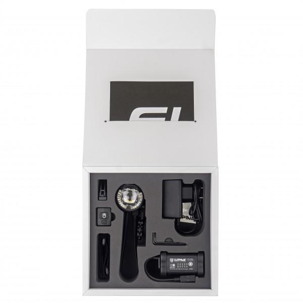 Lupine - SL AF 7 - Fahrradlampe Gr Lenkerdurchmesser 31,8 mm schwarz 5302