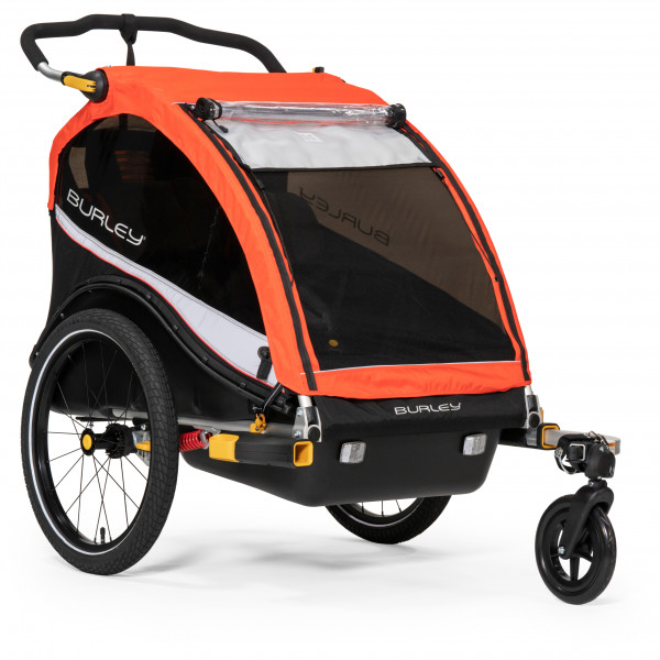 Burley - Cub X - Remolques para niños size One Size, hellrot