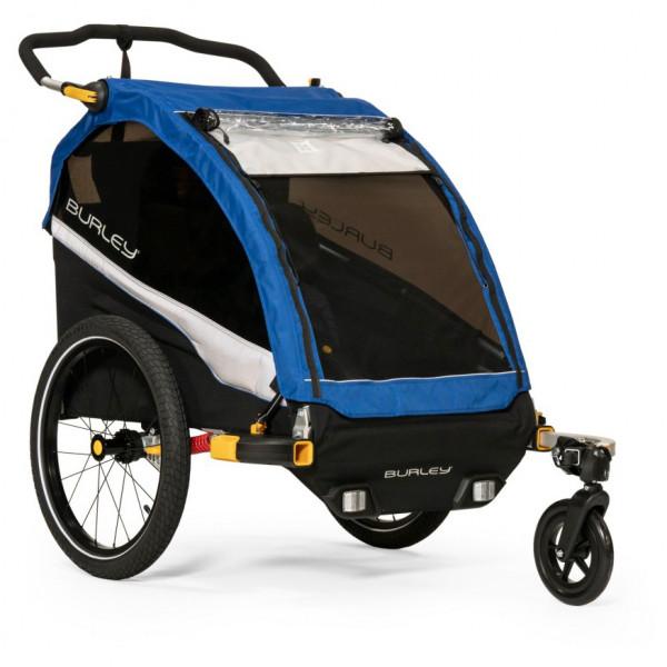 Burley - D'Lite - Remolques para niños size One Size, negro/gris